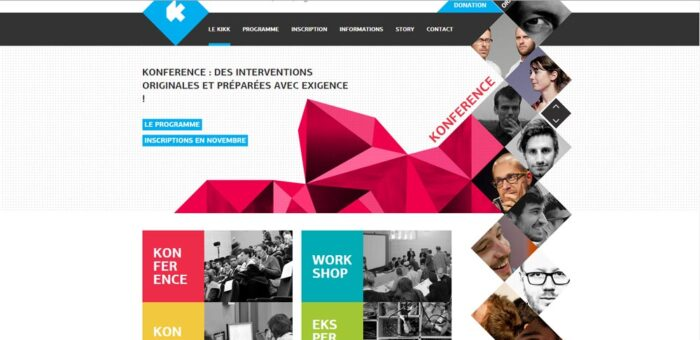 веб дизайн промо дизайн
