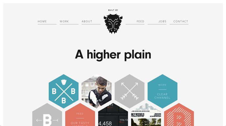 веб дизайн плоский